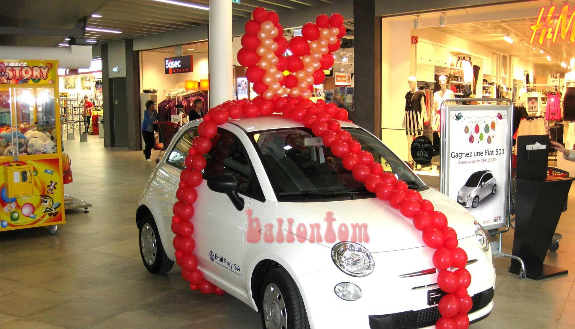 Ballonwelt Lausanne - Schweiz - Autoverlosung - Projekt: Canniballoon Team Didier Dvorak - Unterstützt durch ballontom