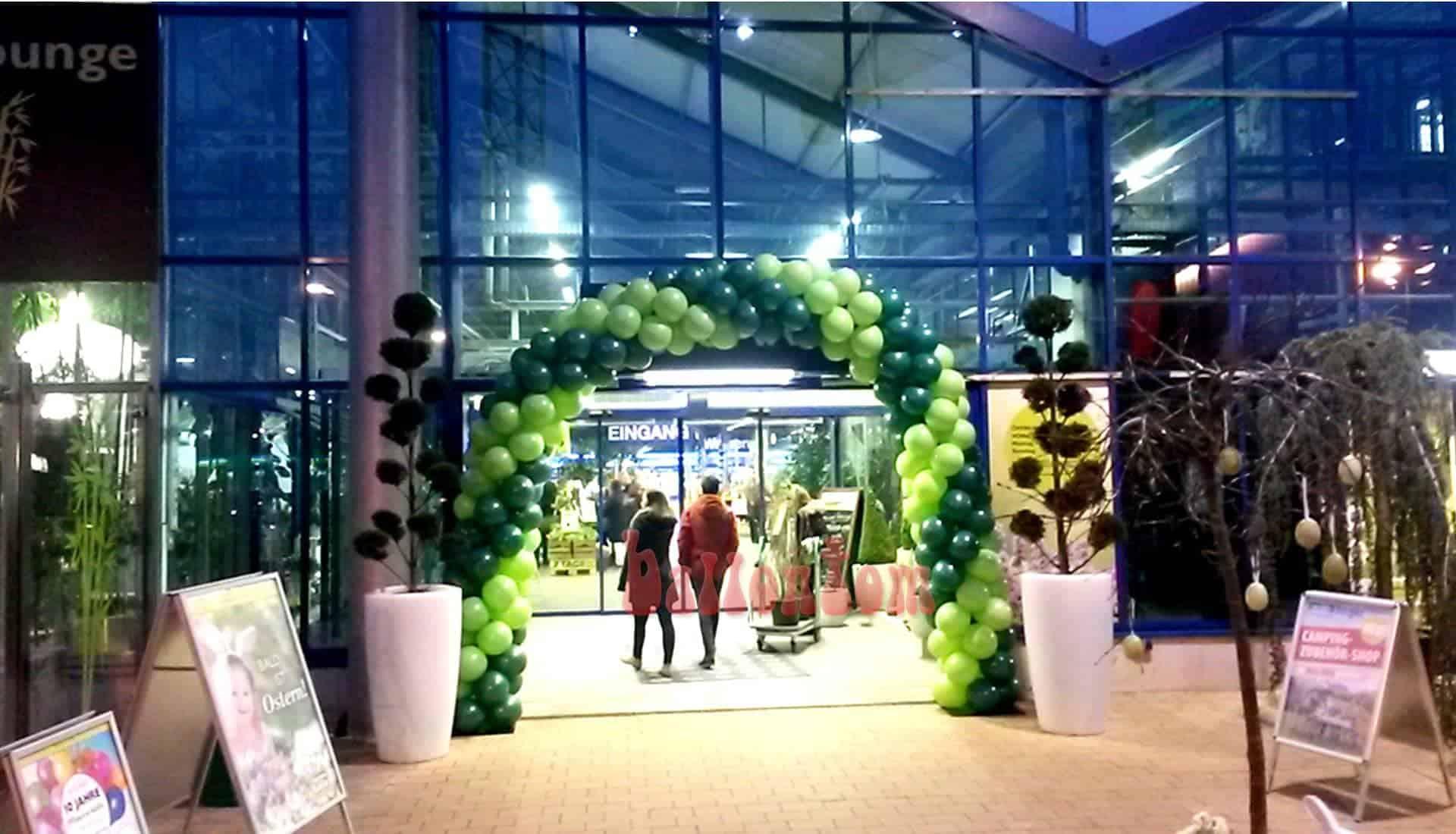 Ballonbogen für Pflanzen Kölle in Ottobrunn