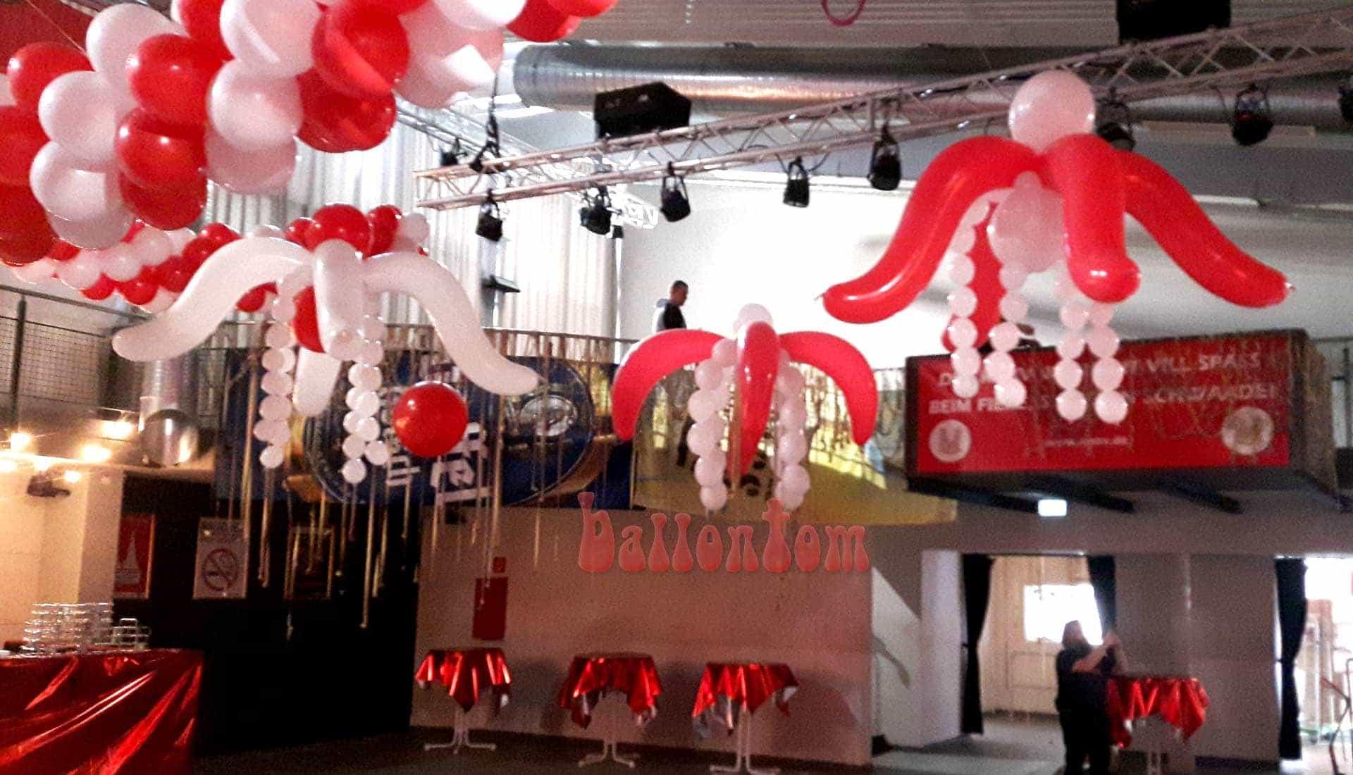 Ballonpflanzen im Technikum in München