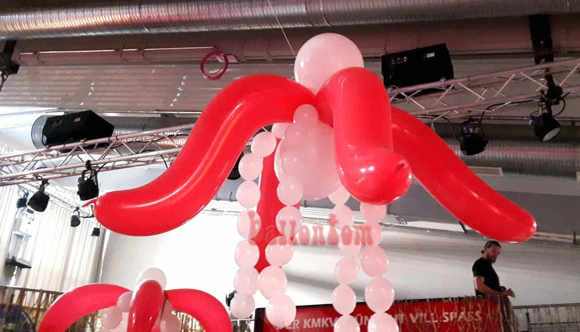 Deckenhänger Ballonpflanze im Technikum in München