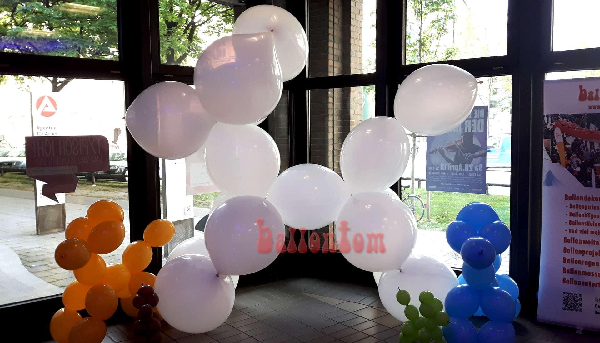 Ballonshow Augsburg