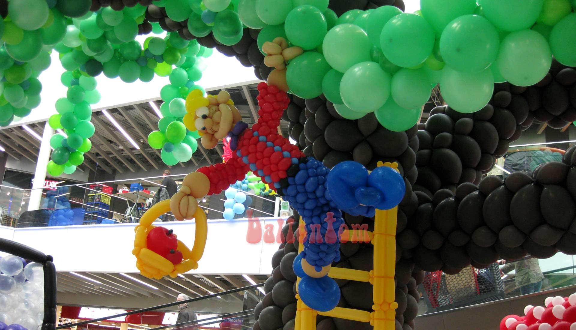 Ballonwelt Lausanne - Schweiz - Apfelpflücker - Projekt: Canniballoon Team Didier Dvorak - Unterstützt durch ballontom