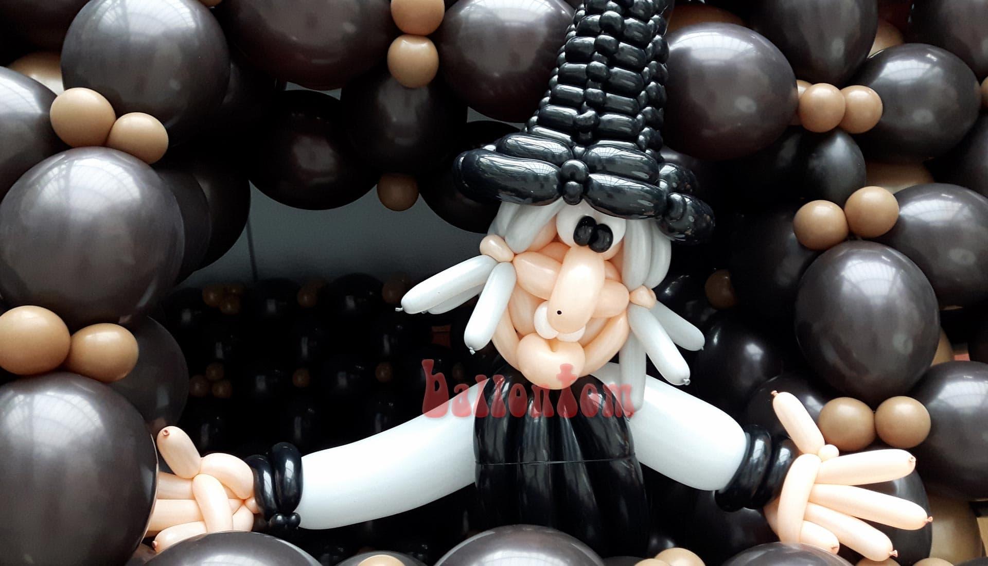 Ballonwelt zur Kinderoper Hensel und Gretel in Unterschleißheim Nähe München - Bild: Hexe