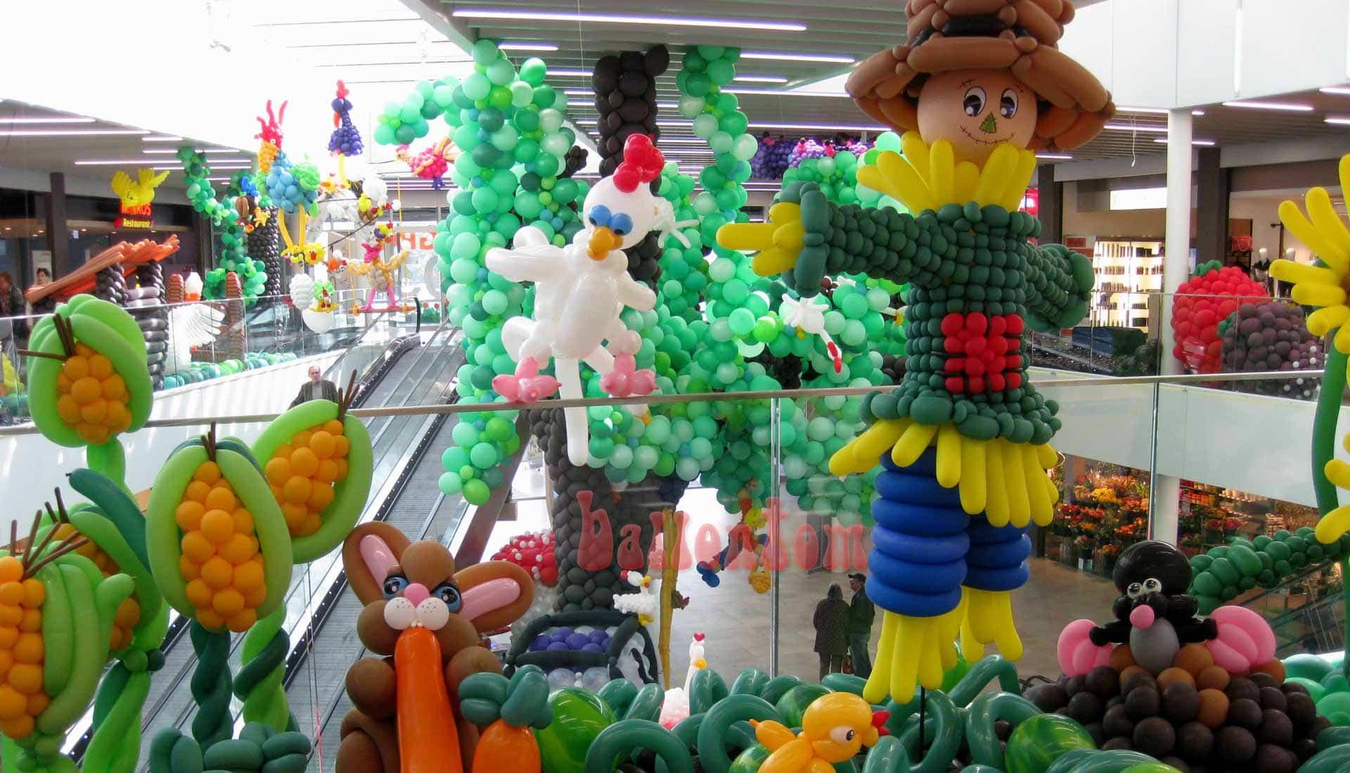 Ballonwelt Lausanne - Schweiz - Landleben - Projekt: Canniballoon Team Didier Dvorak - Unterstützt durch ballontom