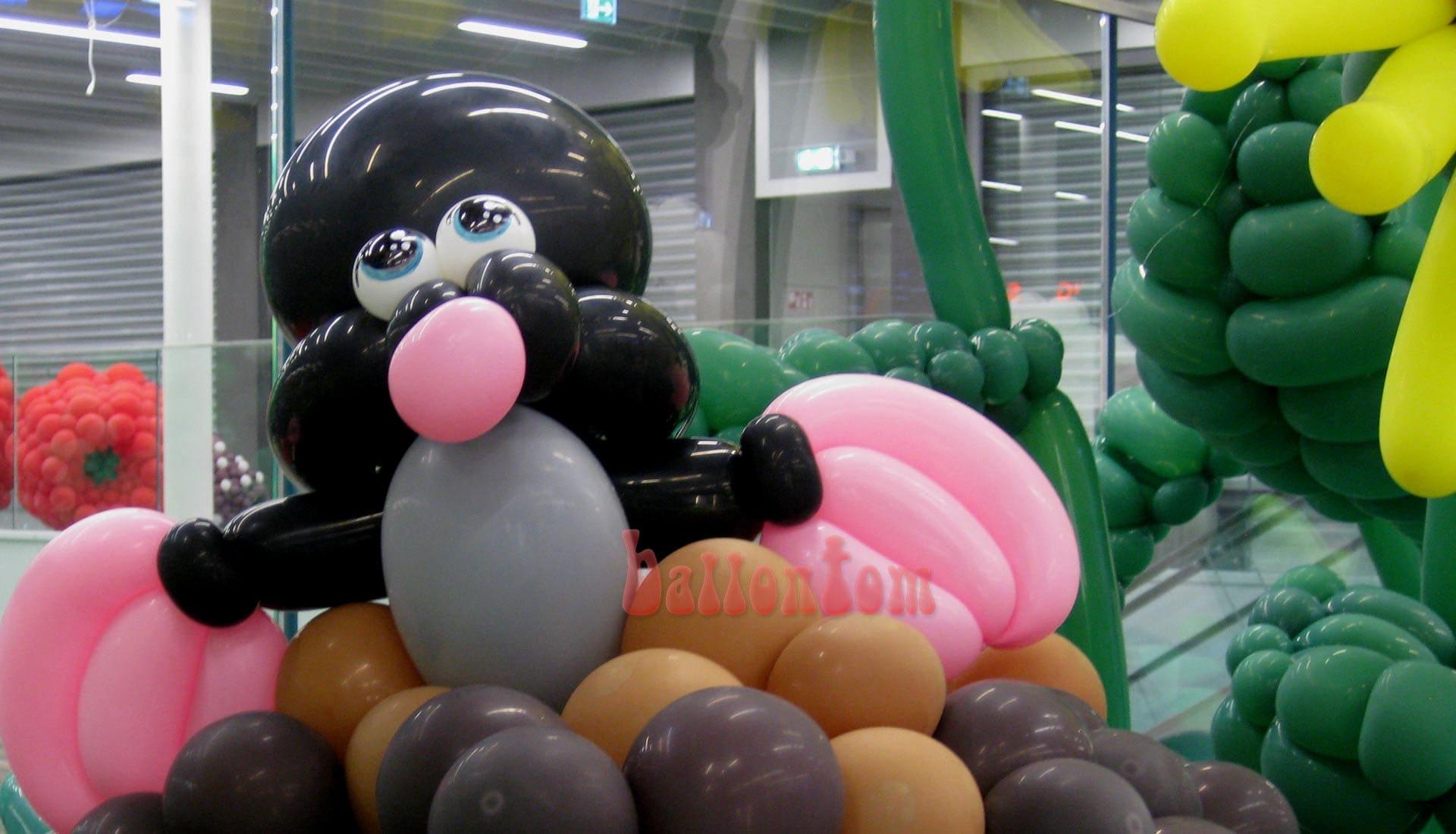 Ballonwelt Lausanne - Schweiz - Maulwurf - Projekt: Canniballoon Team Didier Dvorak - Unterstützt durch ballontom