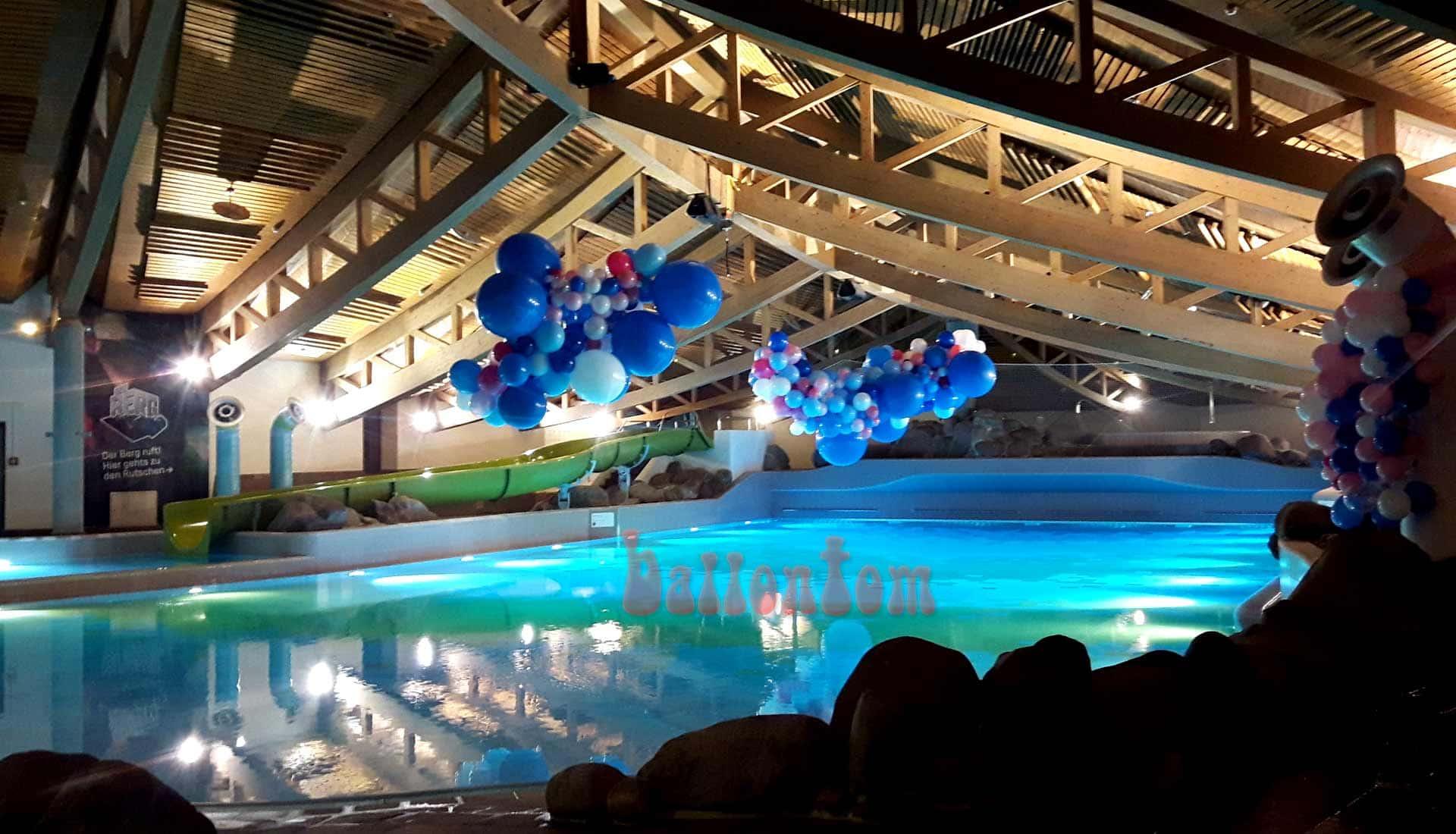 Organic-Wolken im Säntispark / Schweiz - Projekt: Ballonhaus.ch - Unterstützt durch ballontom