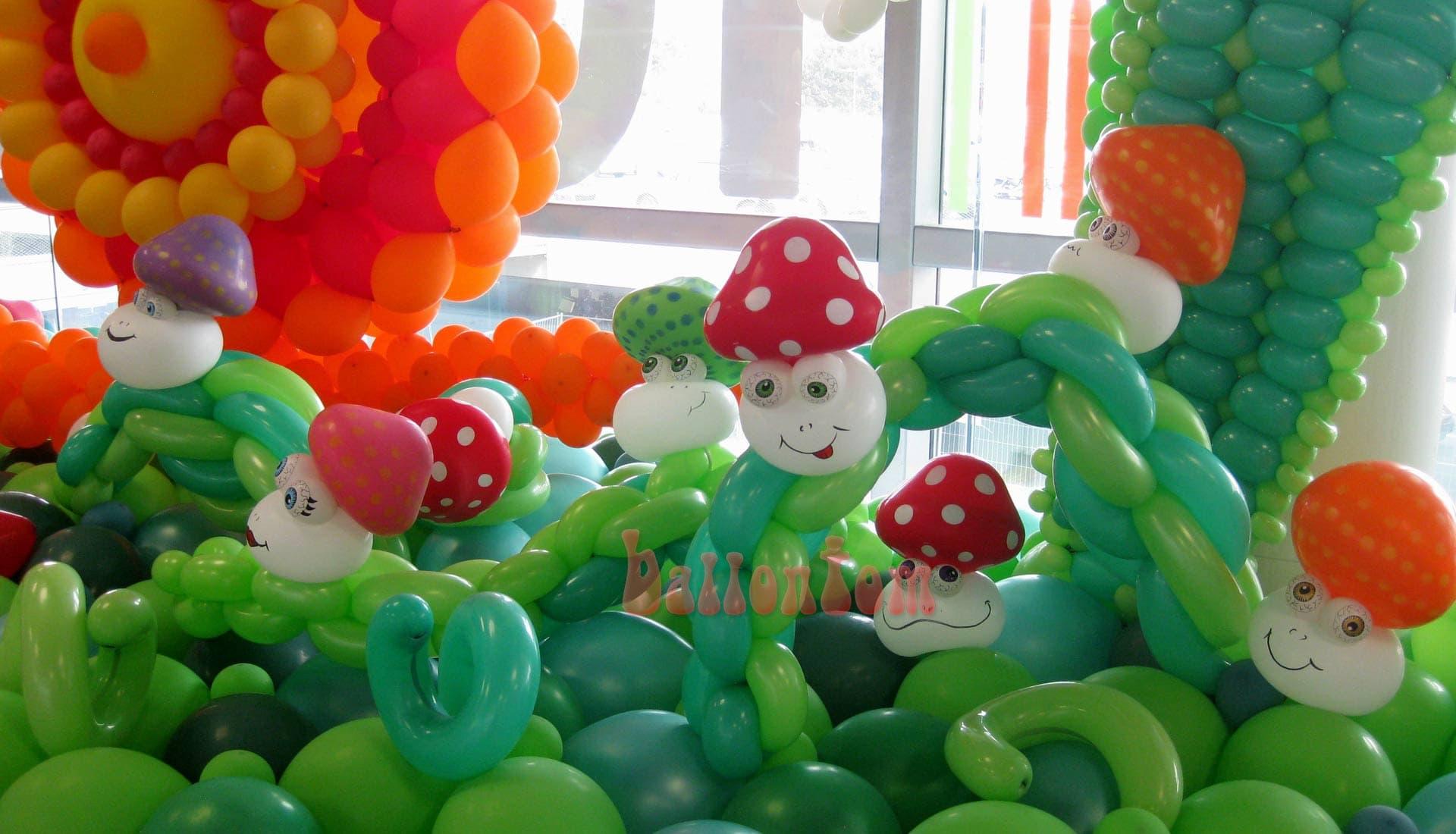 Ballonwelt Lausanne - Schweiz - Pilze - Projekt: Canniballoon Team Didier Dvorak - Unterstützt durch ballontom