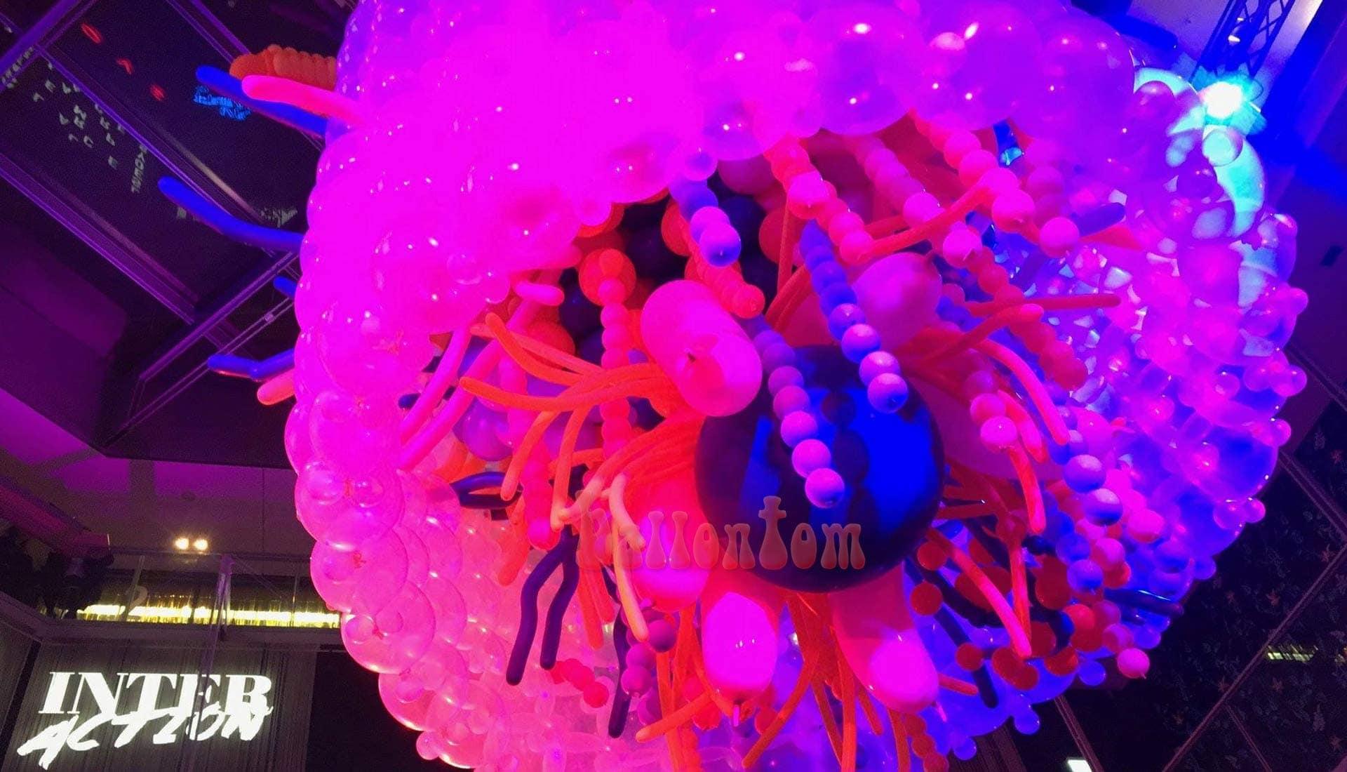 Silvesterprojekt 2018 in München - Projekt: Sina Greinert - Unterstützung durch ballontom