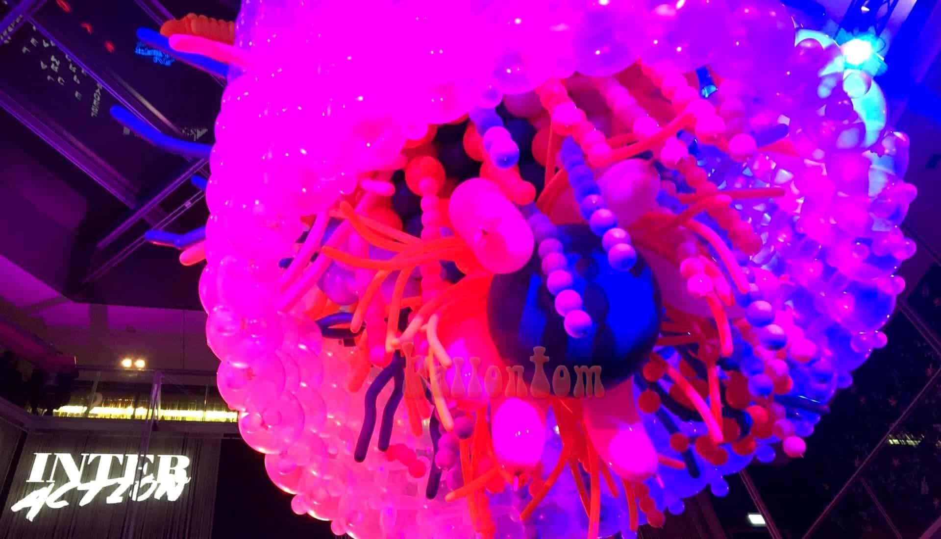 Ballonprojekt der Ballonkünstlerin Sina Greinert in München - Unterstützt von ballontom