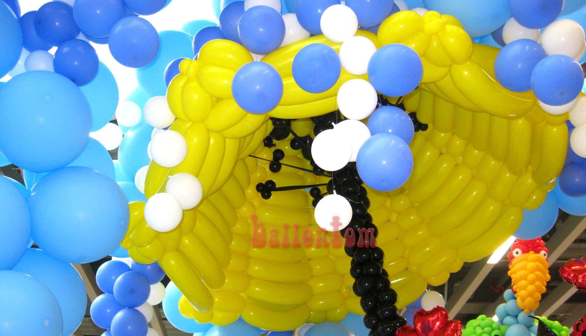 Ballonwelt Lausanne - Schweiz - Regenschirm - Projekt: Canniballoon Team Didier Dvorak - Unterstützt durch ballontom
