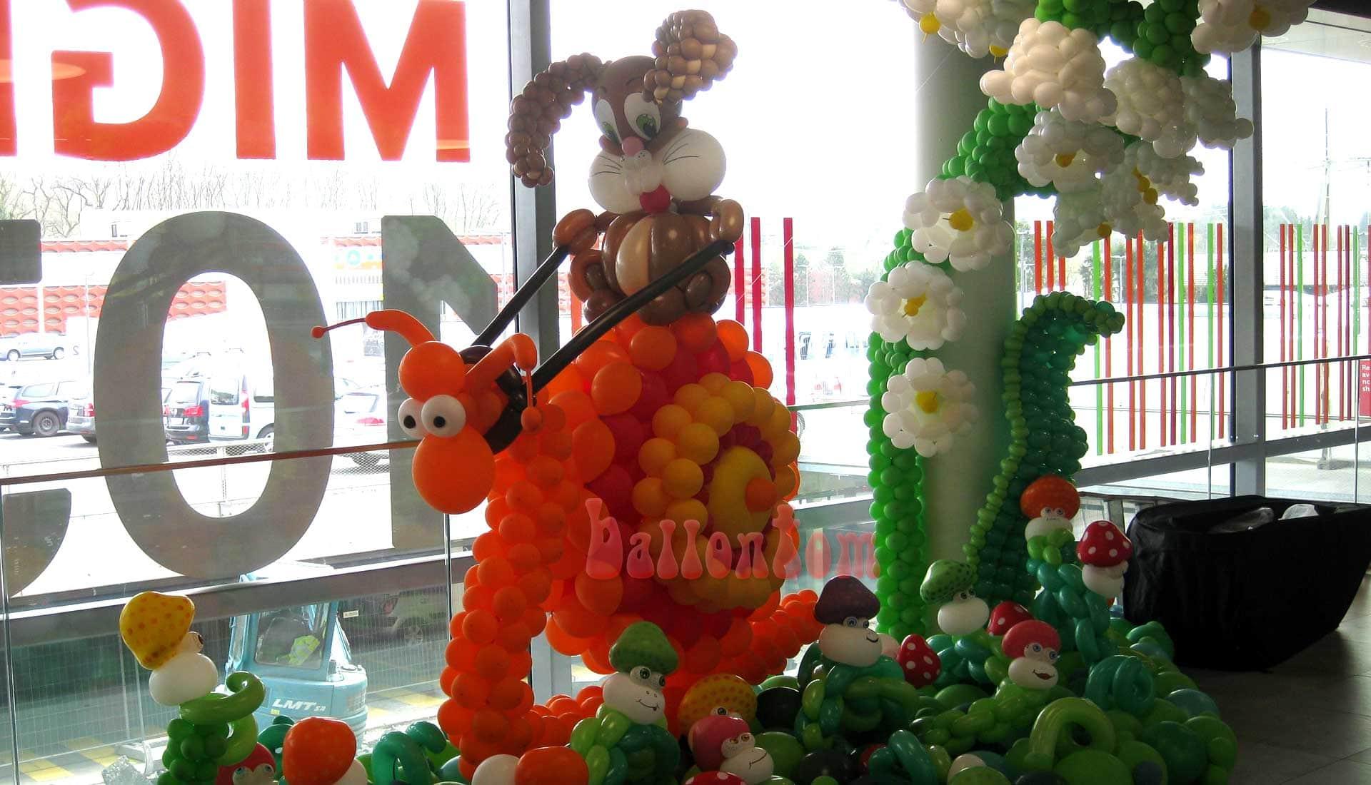 Ballonwelt Lausanne - Schweiz - Rennschnecke - Projekt: Canniballoon Team Didier Dvorak - Unterstützt durch ballontom