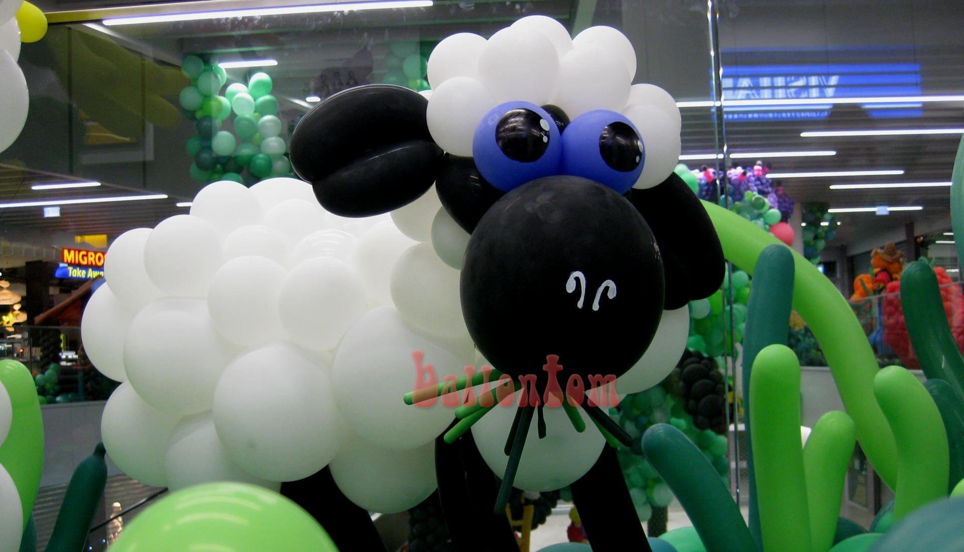 Ballonwelt Lausanne - Schweiz - Schaf - Projekt: Canniballoon Team Didier Dvorak - Unterstützt durch ballontom