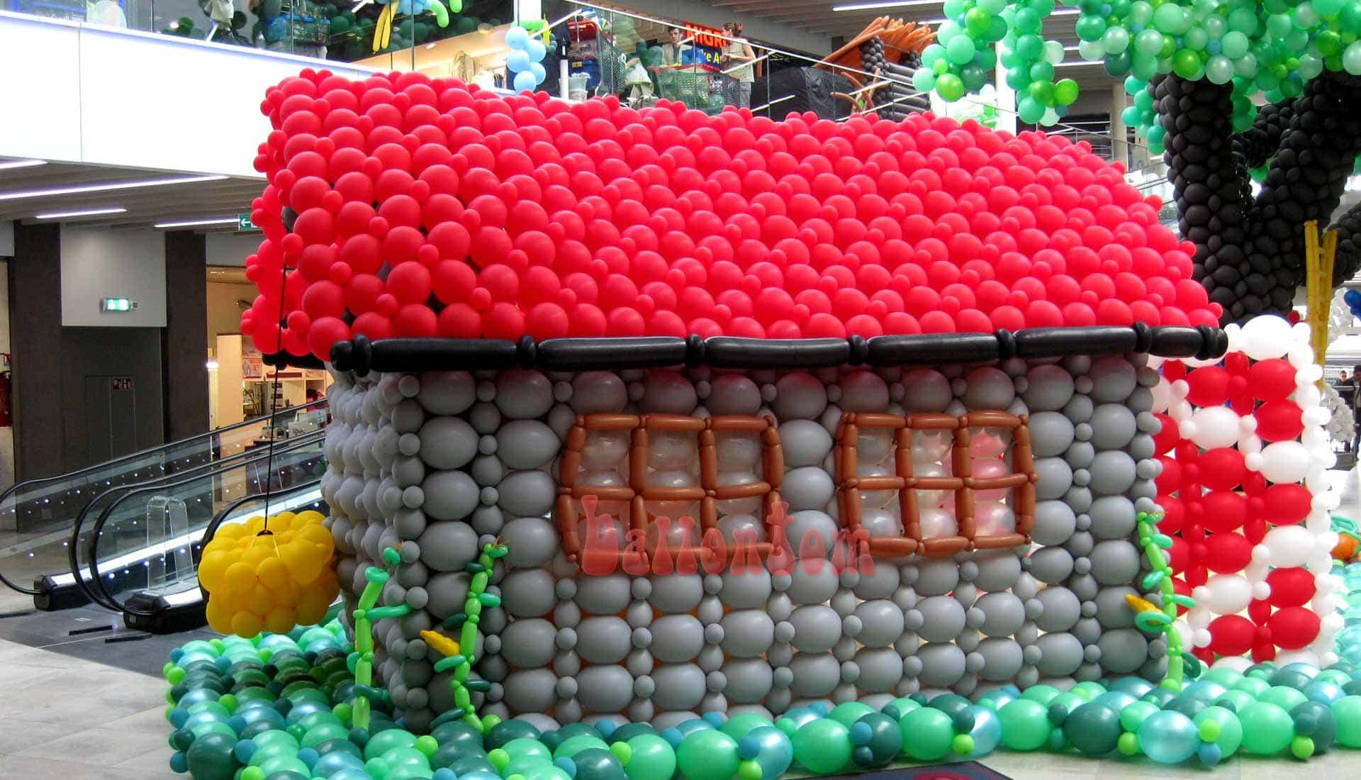Ballonwelt Lausanne - Schweiz - Scheune - Projekt: Canniballoon Team Didier Dvorak - Unterstützt durch ballontom