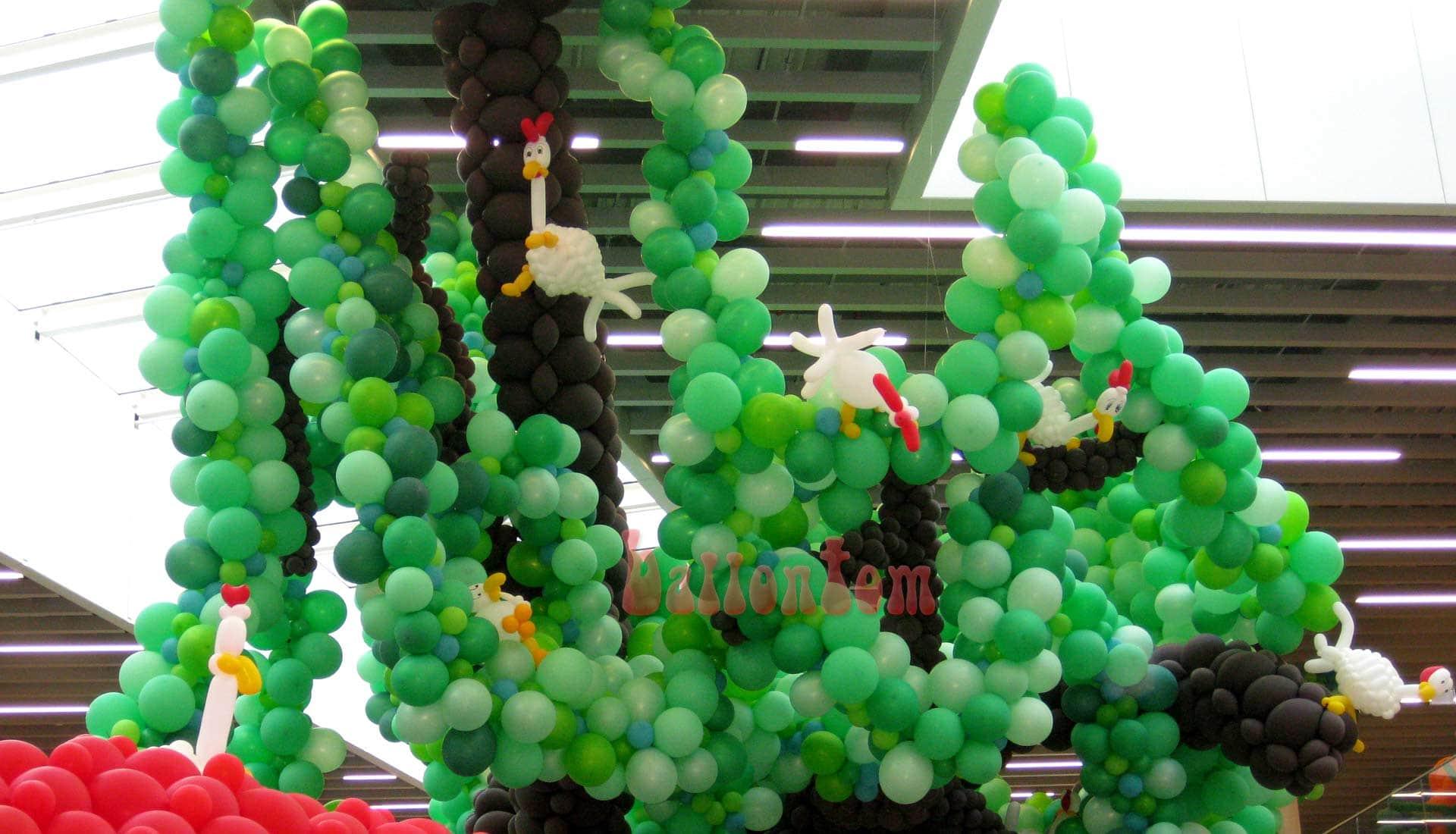 Ballonwelt Lausanne - Schweiz - Verrückte Hühner - Projekt: Canniballoon Team Didier Dvorak - Unterstützt durch ballontom