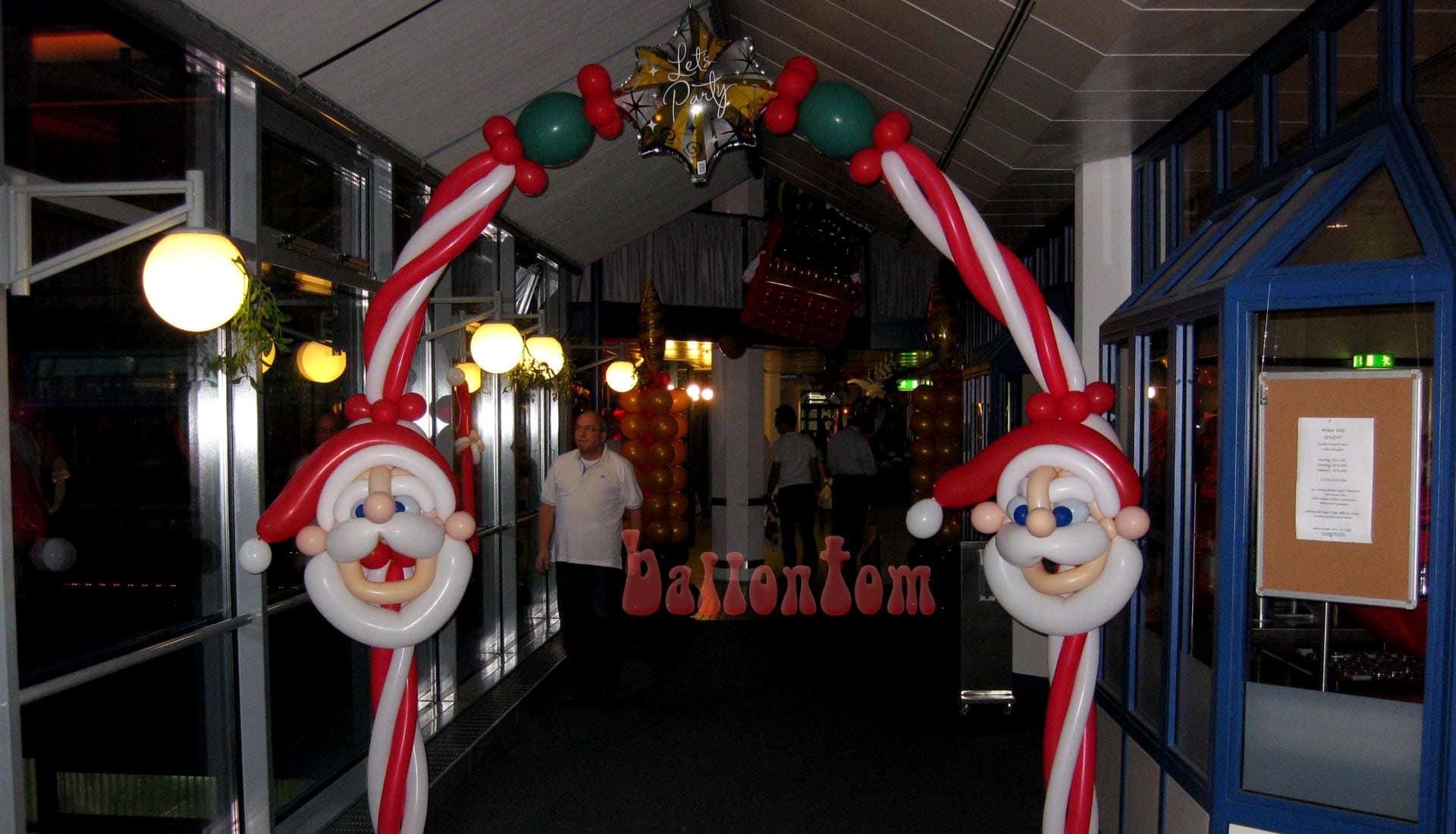 Weihnachtsbogen für eine Weihnachtsfeier in München