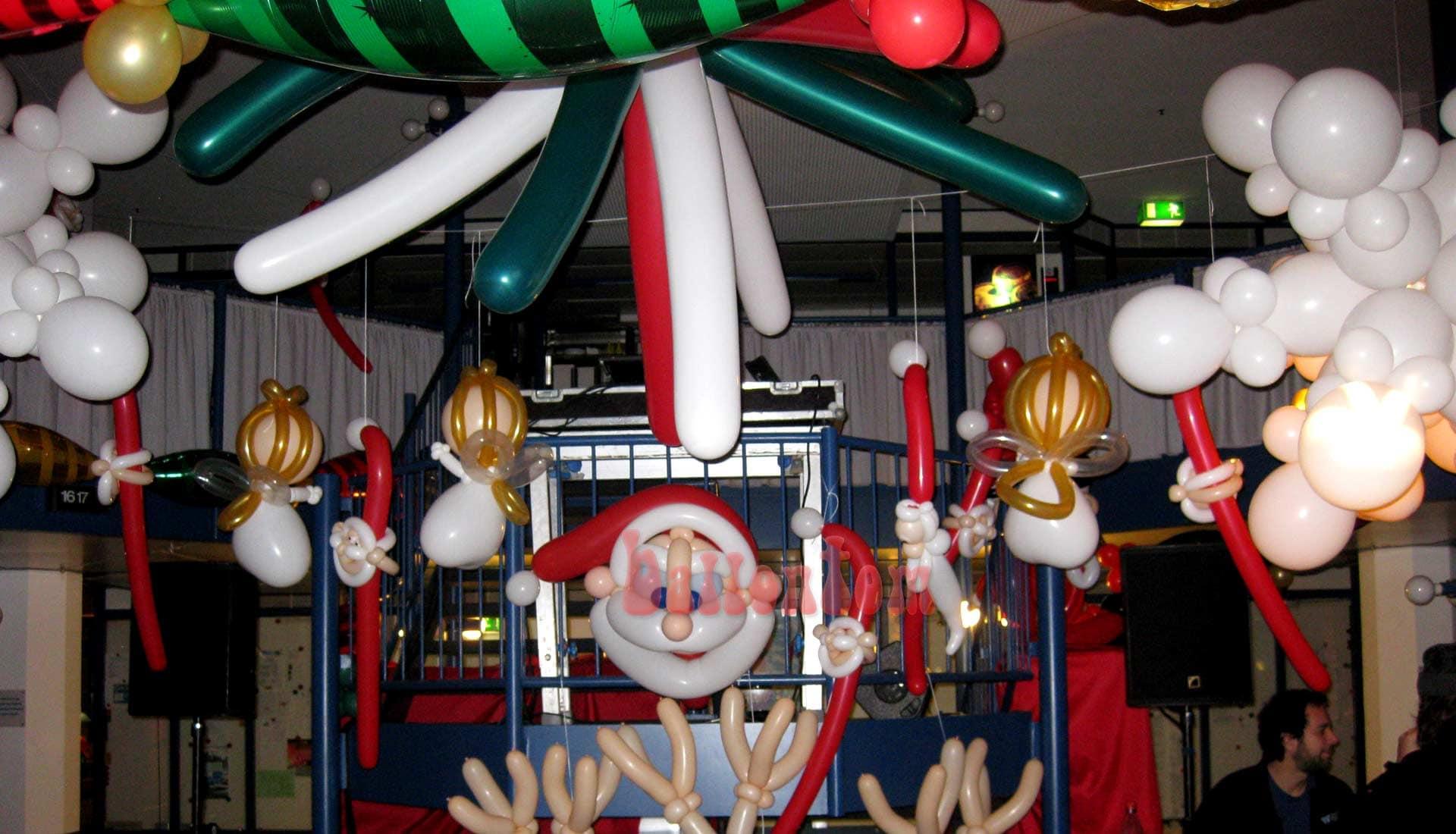 Weihnachtsdekoration für eine Weihnachtsfeier in München