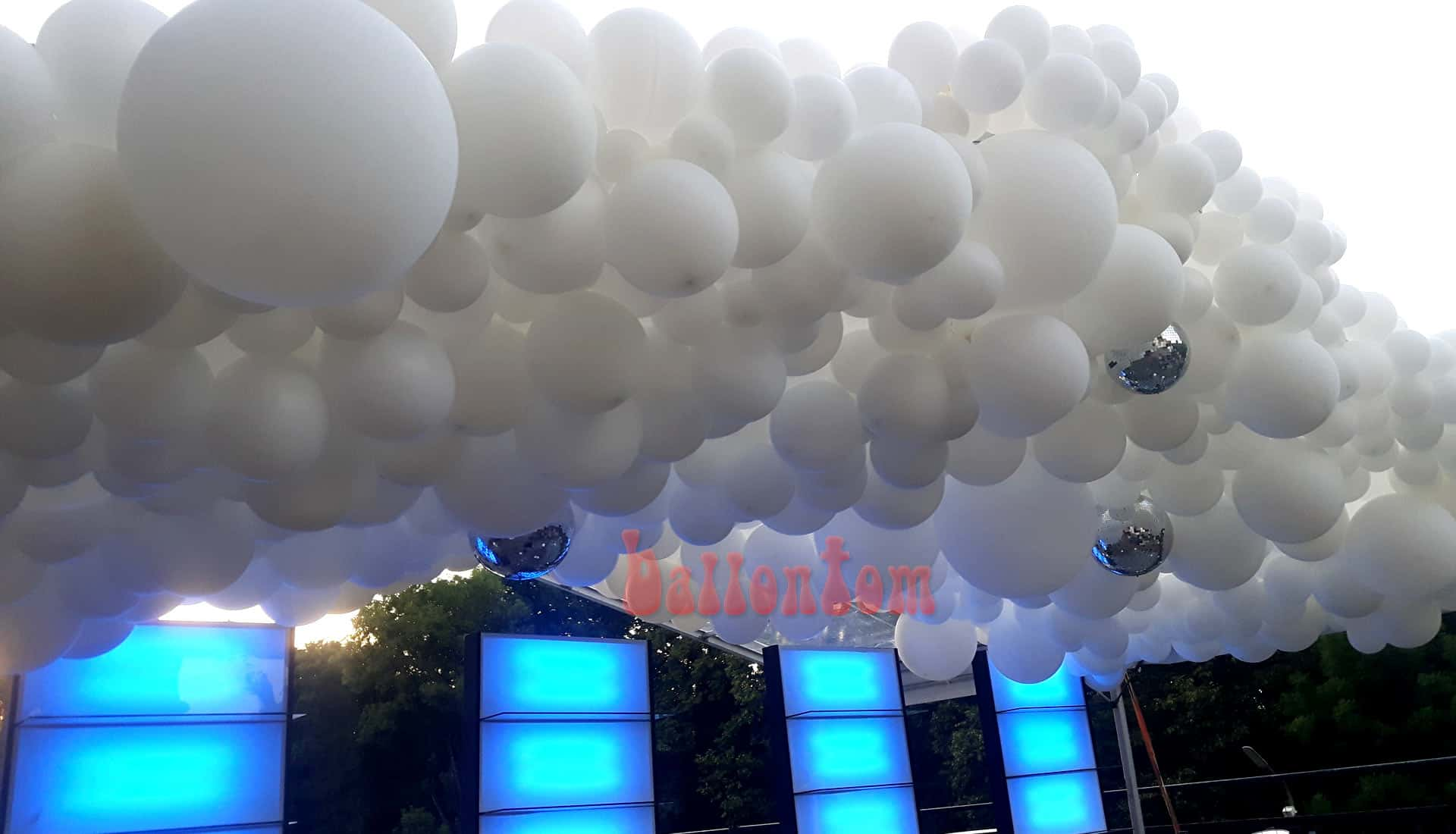 Ballooncloud für Sommerfest