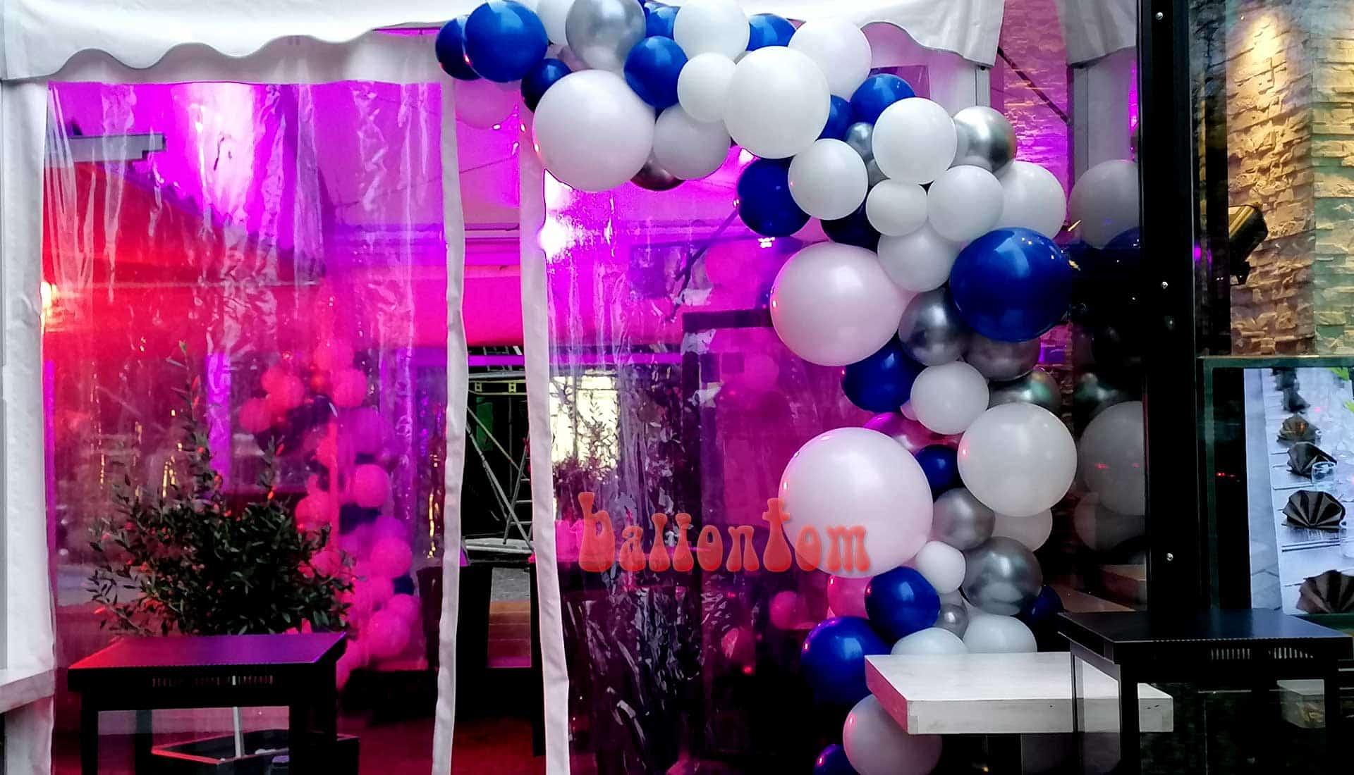 Organicdekoration Eingangsbereich Projekt + Durchführung von ballontom